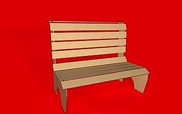 Kit para hacer banco de madera DM para candy bar mesa dulce, decoración de fiestas. Medidas: 50cm x 60xm x 35cm: Amazon.es: Hogar