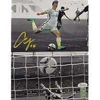$130 » Authentic Autographed Carli Lloyd *Yellow Team Usa 8X10 Dual Shot Photo ~ JSA W Auth