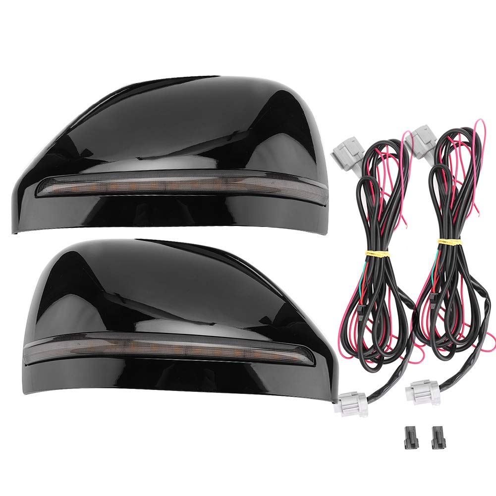 Akozon 1 Pair LED Waterproof Bright Car Rear View Mirror Puddle Lights Fit for Nissan Patrol 2016-2019 by Akozon