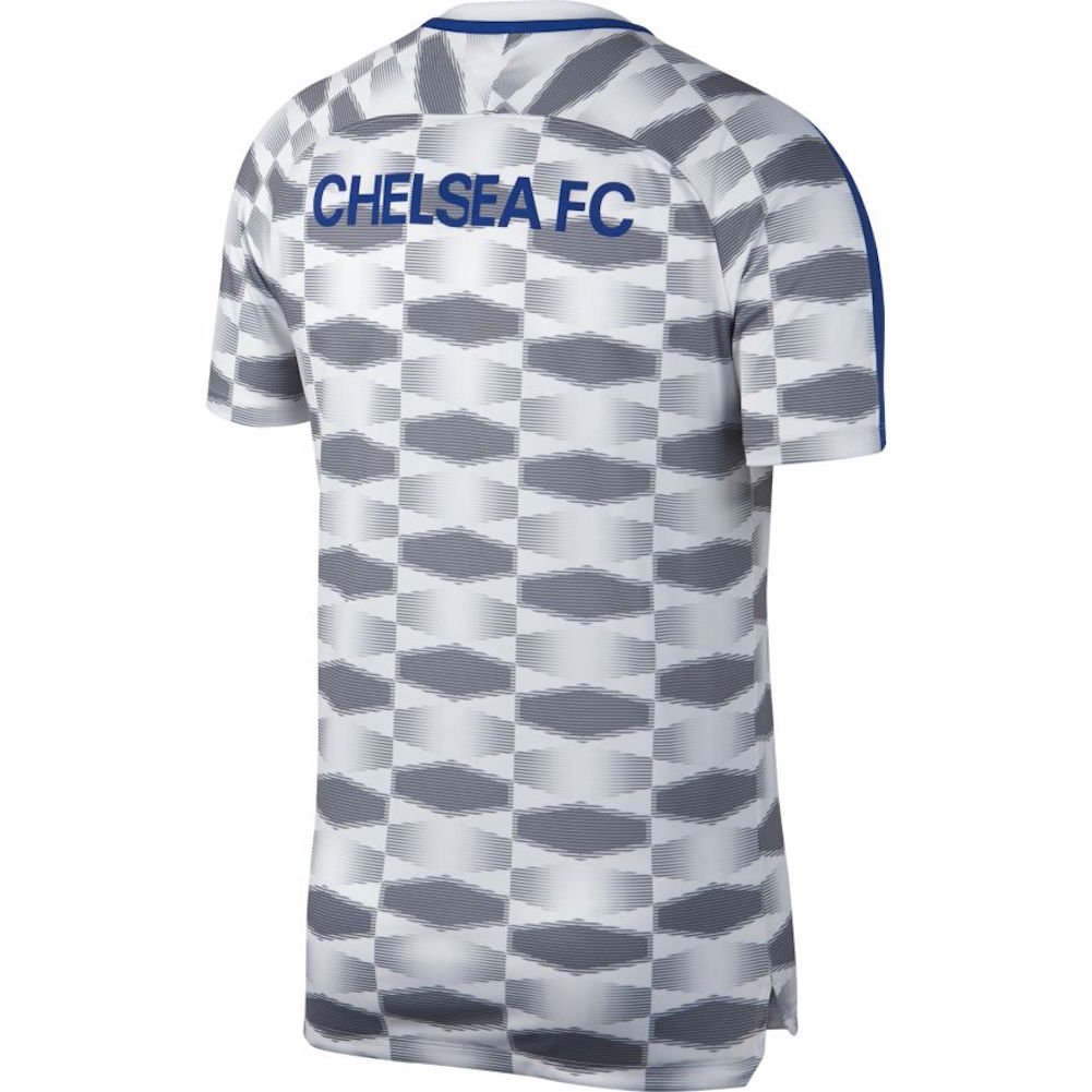 Amazon.com   NIKE Chelsea Squad Top GX 2017 2018 - White   Sports   Outdoors 94523f84e