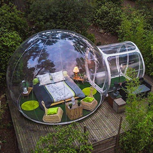 Amazon.com: Tienda de campaña de burbujas hinchable ...