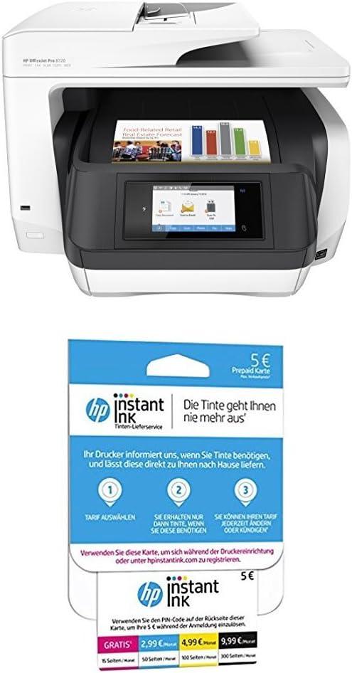 Hp Officejet Pro 8720 Multifunktionsdrucker Weiß Hp Computer Zubehör
