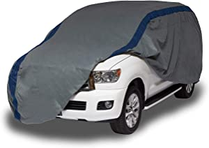 Duck Covers Weather Defender SUV Cover for SUVs/Pickup Trucks with Shell or Bed Cap up to 22'
