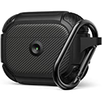 AirPods Pro Case, Full-Body Rugged Protective Cover, Resilient Shock Absorption Design, Durable Armor Case with Smooth Skin - Matte Black