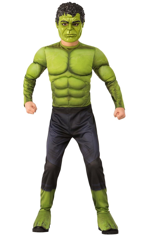 Rubie' s 700363S War Hulk costume bambino, ragazzo, multicolore, 3–4anni