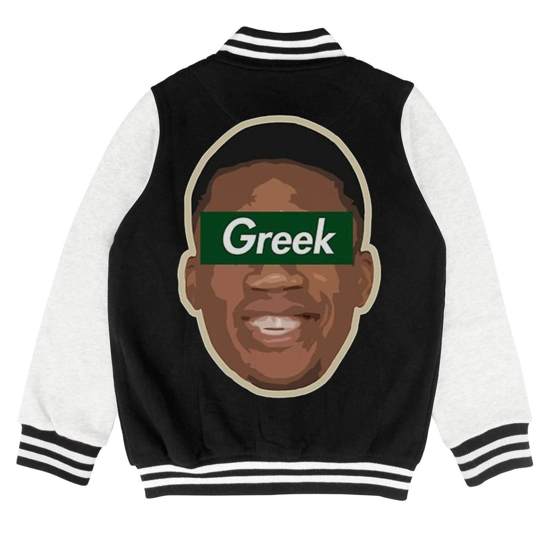 Giannis Art Kids Sportswear Slim Baseball Jacket for 2-10 Y