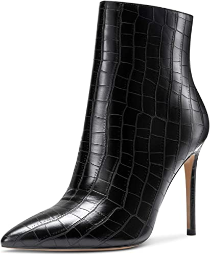 CASTAMERE Womens High Heel Ankle Boots