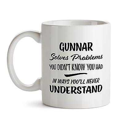 Gunnar Name Gift Birthday Fun Coworker Boss Colleague Christmas Present