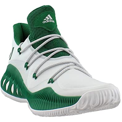 newest 7bffb 8928f Amazon.com  adidas Crazy Explosive Low Shoe Mens Basketball Green   Basketball