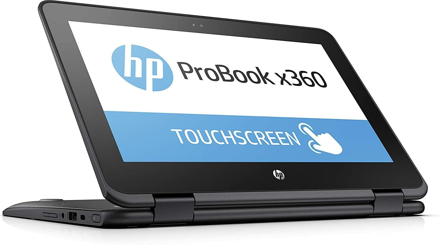 """HP Probook x360 11-G1 EE 11.6"""" 2-in-1 HD Touch-Screen Business Education Laptop with Active Pen, Intel N3450 Quad-Core, 64GB eMMC, 4GB RAM, Type-C, HDMI, Bluetooth, Windows 10 S"""