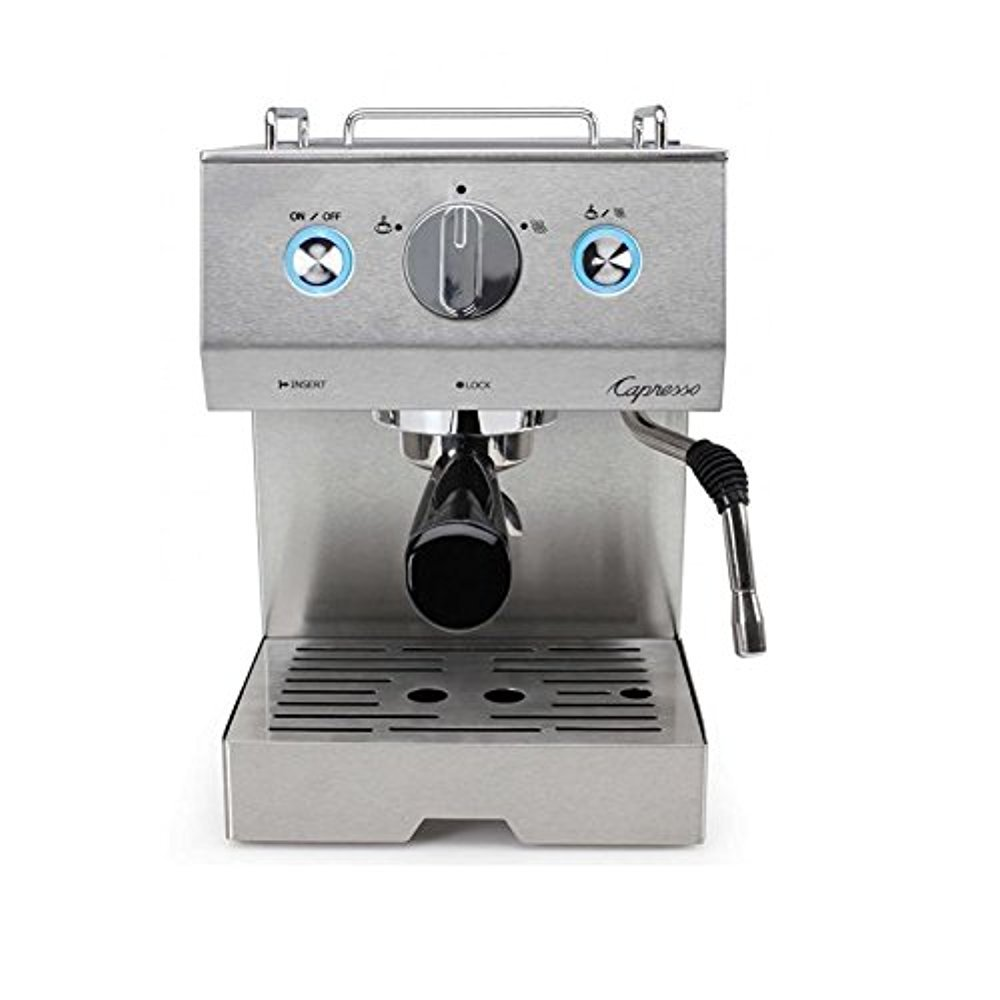 Capresso 125.05 Cafe Pro Espresso Maker, Silver (Certified Refurbished)