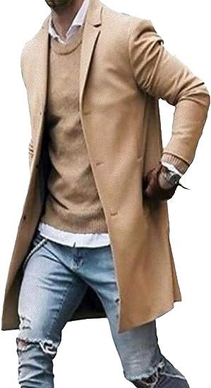 [ Smaids x Smile (スマイズ スマイル) ] コート ロング チェスター アウター ジャケット 無地 長袖 ビジネス メンズ