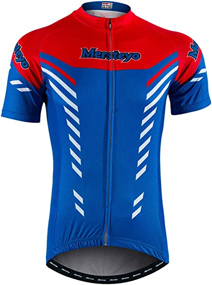 Fonly Maillot De Cyclisme De V/élo De Montagne en Plein Air pour Hommes Maillot De Cyclisme /À Manches Courtes pour Hommes Et Femmes S, M, L, XL, XXL, XXXL