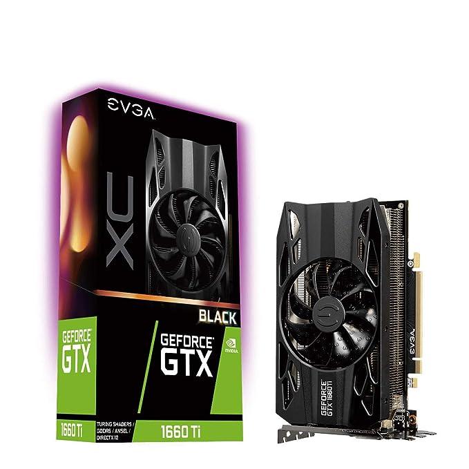 Tarjeta Gráfica EVGA GeForce GTX 1660 Ti XC Black Gaming, 6GB GDDR6, Fan HDB, 06G-P4-1261-KR