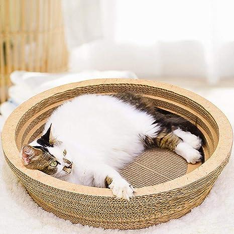 H Cama del salón de Scratcher del Gato, Almohadillas para rascar el Gato