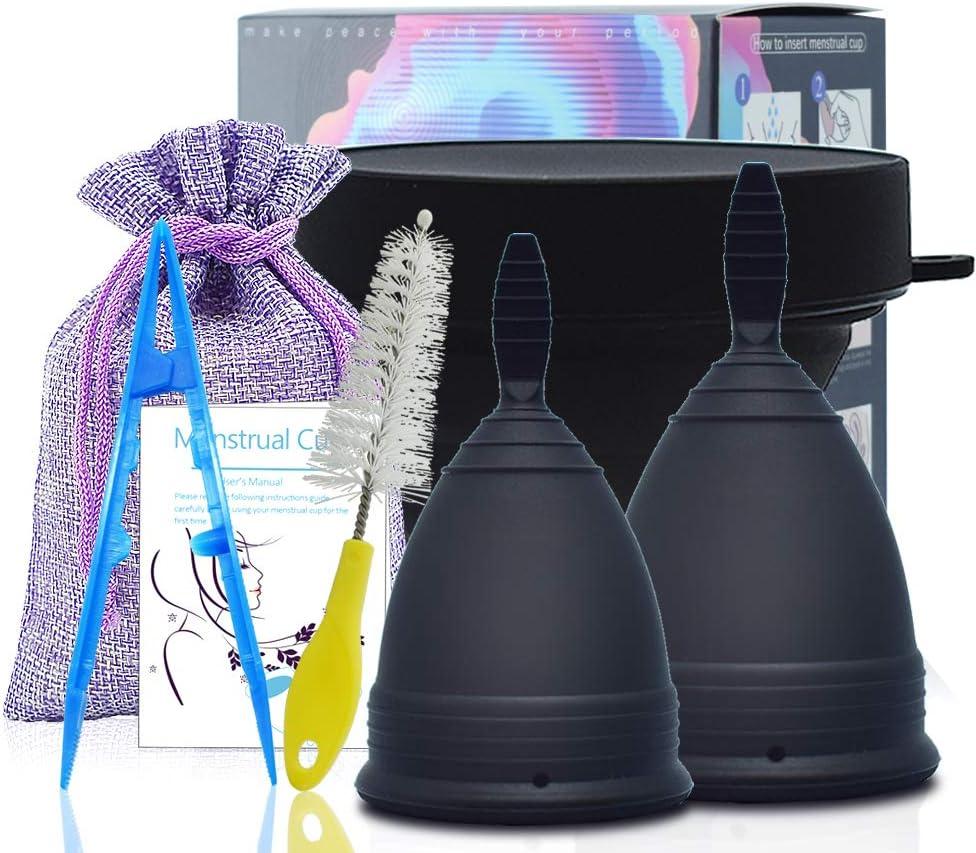 SPEQUIX - Juego de vasos menstruales y esterilizadores para ...