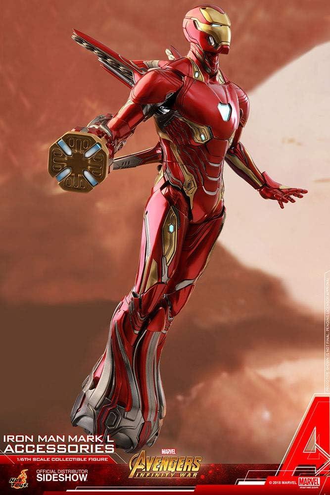 Hot Toys Marvel Avengers Infinity War Iron Man Mark L 50 Diecast ...