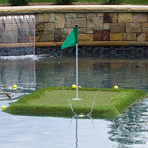 Floating Golf Green for Pools and Ponds, Chipping Mat (3' x ()