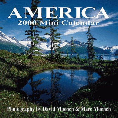 America 2000 Calendar - America 2000 Mini Calendar