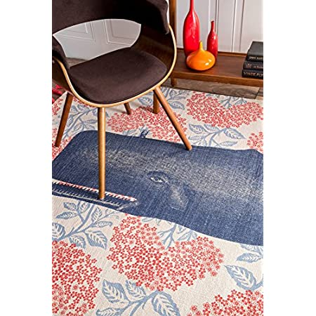 61X4GU83YbL._SS450_ Whale Rugs and Whale Area Rugs
