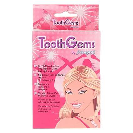 Claires - Gemas de dientes para niña en color transparente ...
