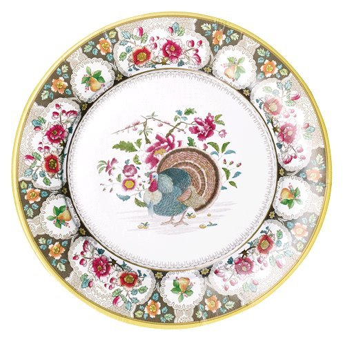 Thanksgiving Dinner Plates Thanksgiving Table Décor Paper Plates Turkey Place Setting Pk 16