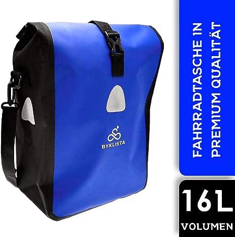 BYKLISTA Bolsa para Bicicleta Premium - Alforja para Bicicleta ...