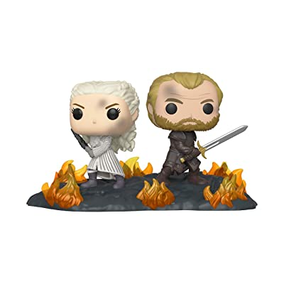 Funko POP! Movie Moment: Game of Thrones - Daenerys and Jorah with Swords: Toys & Games