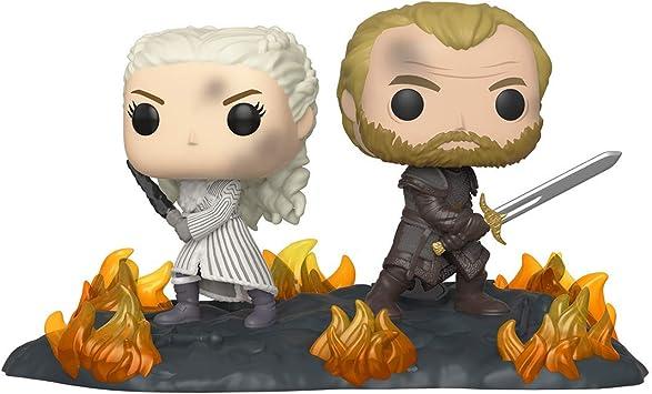 Oferta amazon: Funko Pop! Moment: Game of Thrones - Daenerys & Jorah B2B w/Swords