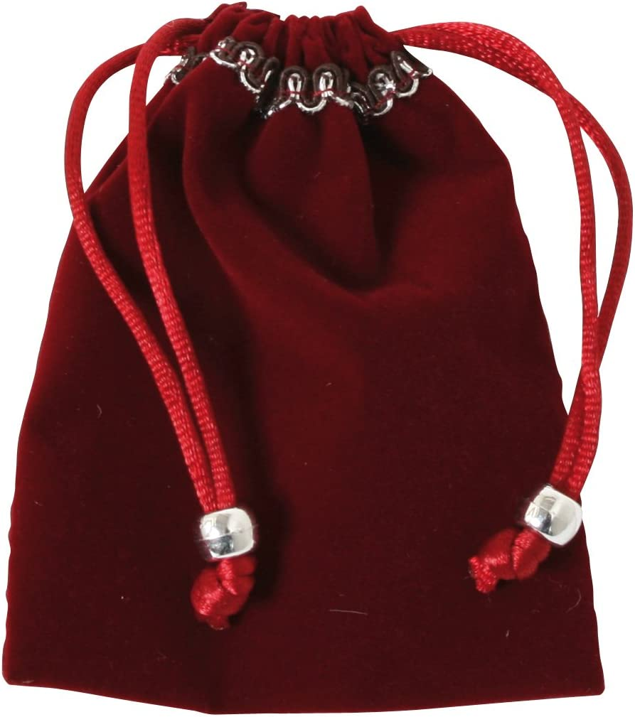 10 Aufbewahrungstasche aus Samt,Hochzeitsgeschenkbeutel,Schmuckbeutel,klein x WS
