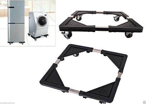 Base Soporte para nevera nevera Lavadora con ruedas placa electrodomésticos