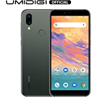 UMIDIGI A3S Unlocked Smartphone 2020, 16 GB Android 10 Mobile Phone, Double-Sided 2.5D Curved Glass, 2 + 1 Card Slots, 16MP Dual Camera, Dual 4G Volte, 3950mAh, AI Face Unlock, Global Version - Green