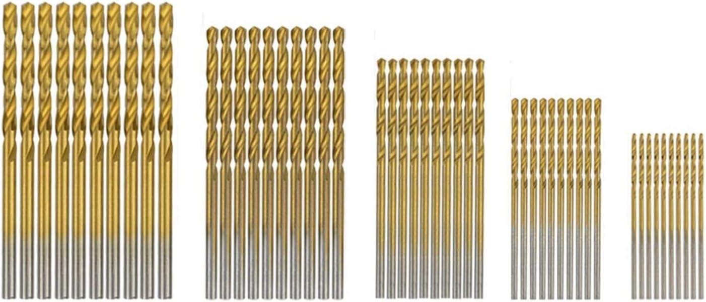 High Hardness 1 Mm-3 Mm 55 PCS HSS 4241 Countersink Cone Drill Bit Set And High Speed Steel HSS Titanium Twist Drill Bits