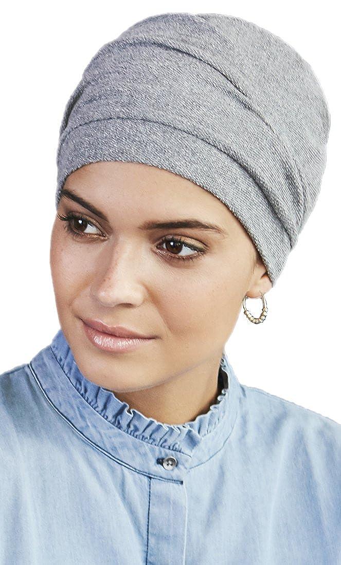 Grigio melang/é Viva Headwear Turbante Nelly Cuffia in Cotone e Poliestere
