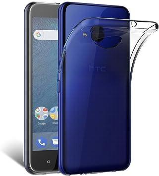 BEYEAH Funda HTC U11 Life, Funda Carcasa Gel Transparente para HTC ...