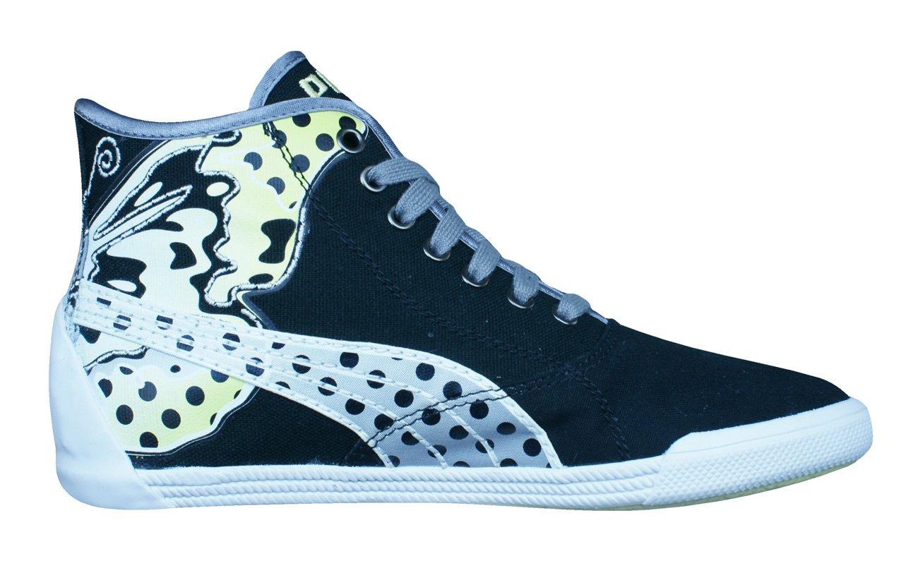Puma Crete Mid Wings Frauen Sneaker - weiß Schwarz-Black-39 0uea6