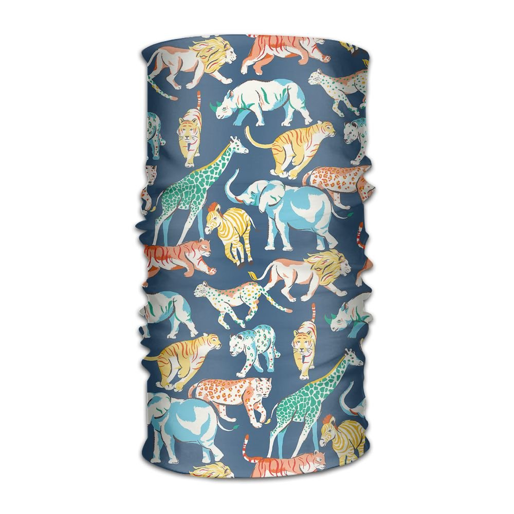 Pduw Multifunctional Headwear Animal Headband Fashion Headscarf Sweatband For Outdoor