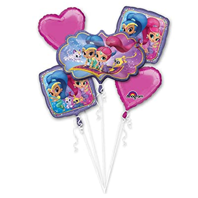 Shimmer and Shine Bouquet Of Balloons: Toys & Games