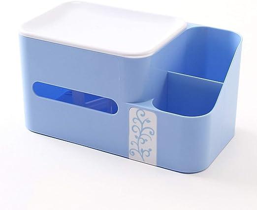 Caja rectangular de pañuelos de plástico - caja de almacenamiento ...