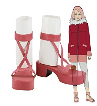 NARUTO The Movie 10 The Last Haruno Sakura Shoes Sandals Cosplay Boots Custom Made