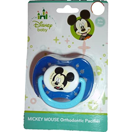 Disney Baby Mickey Mouse orthodontic Pacifier Chupete Color ...