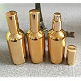 The Oily Essentials 100 ml Gold Electroplated Fine Mist Spray Bottle - Set of 2