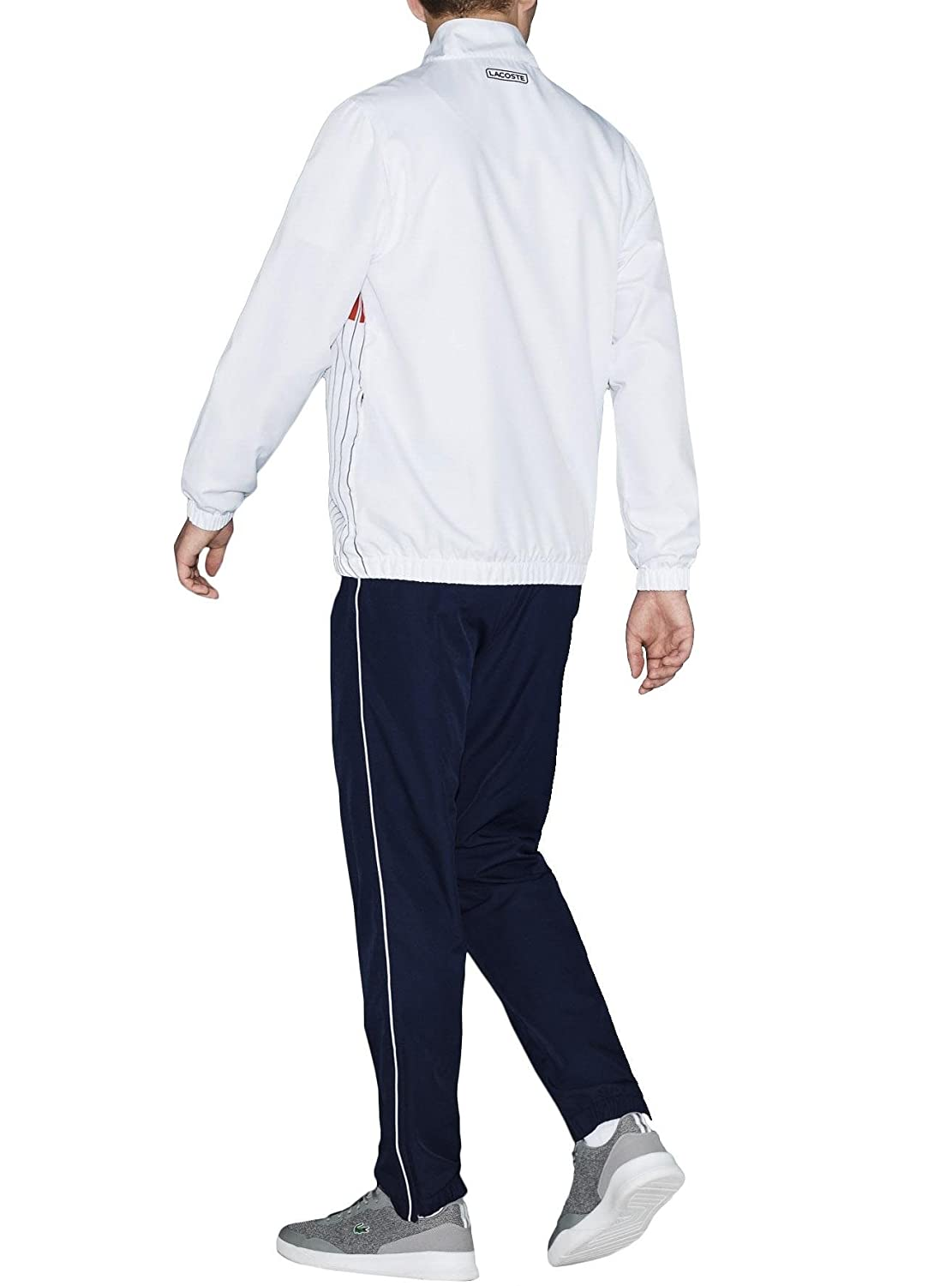 Lacoste Sport - Set - Chã¡Ndal - White/Navy Blue/Mexico Red/Navy ...
