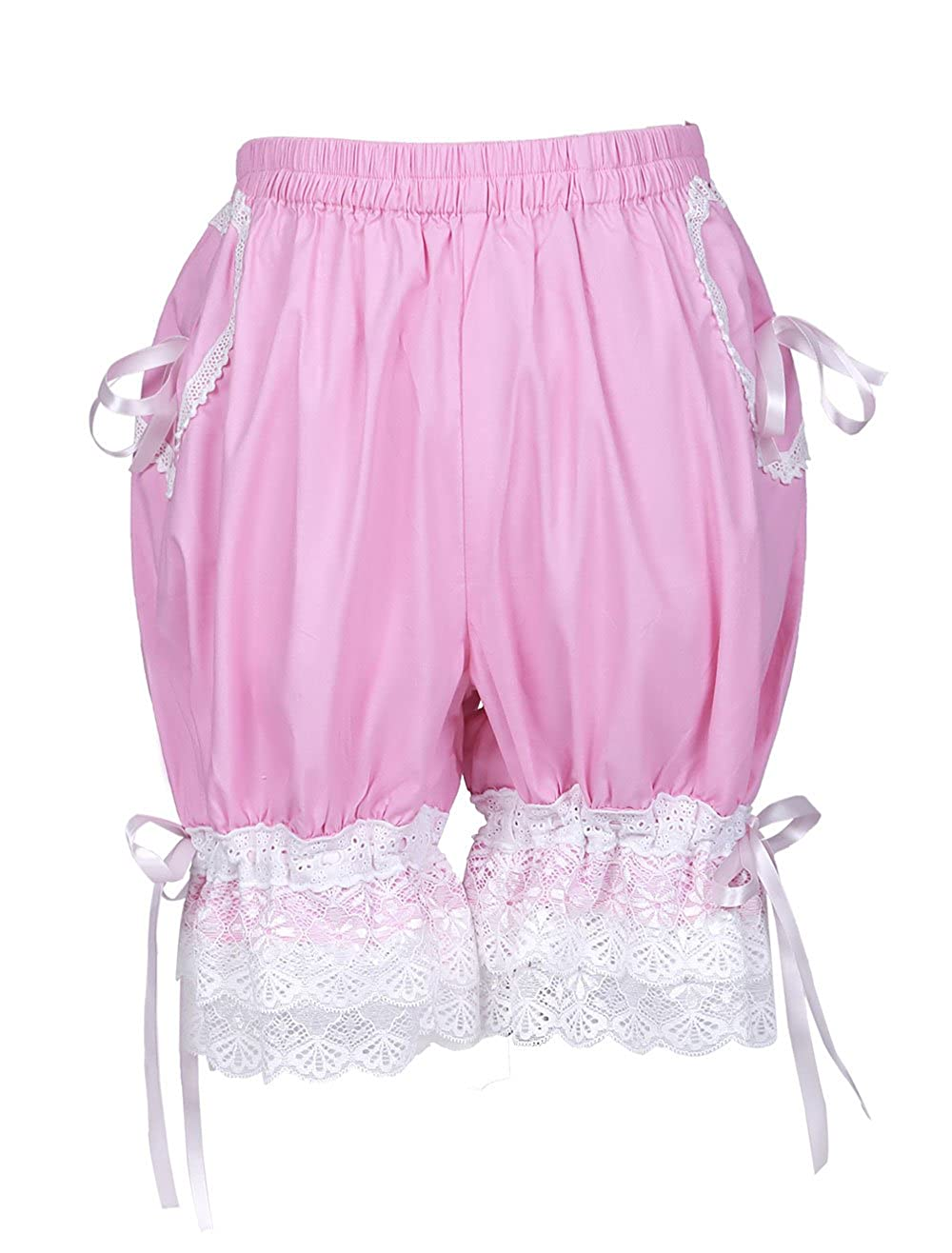 Trendareus Women's Cotton Candy Color Lolita Pumpkin Shorts Bloomers