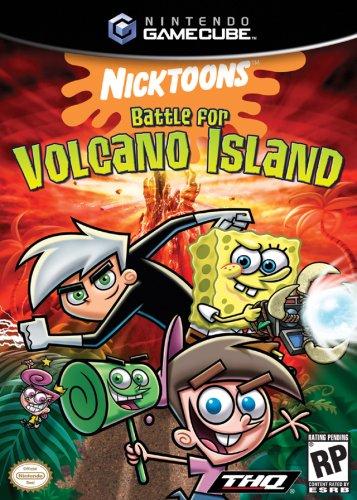(Nicktoons Battle for Volcano Island - Gamecube)