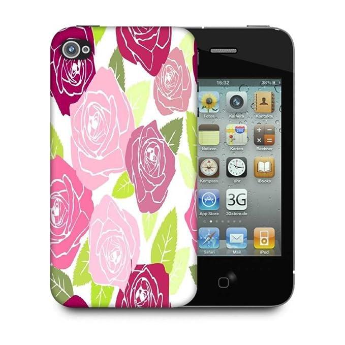 Snoogg Colorido rosas funda carcasa trasera case cover para ...