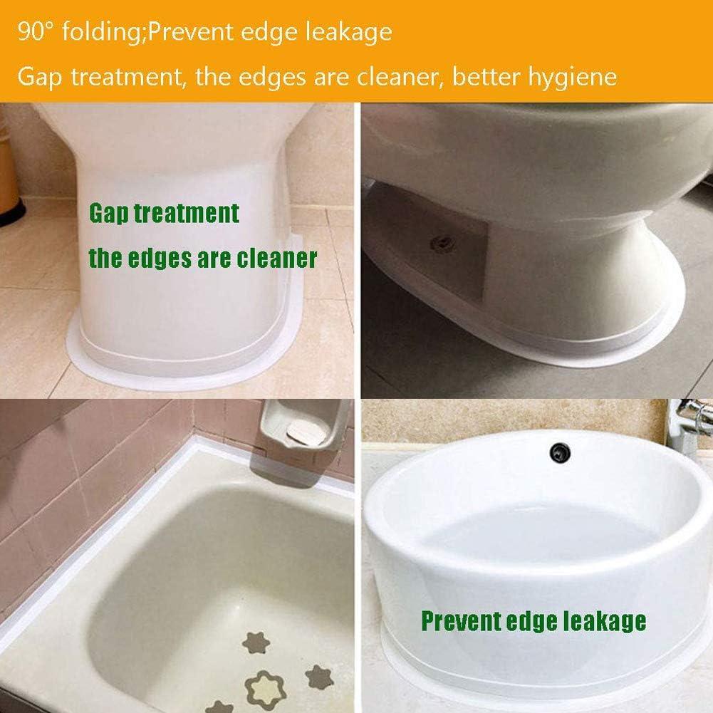 38 mm x 3,2 m/ètres Scellant de bande de mastic de calfeutrage de mur de ruban adh/ésif d/étanch/éit/é de baignoire de salle de bains imperm/éable transparent