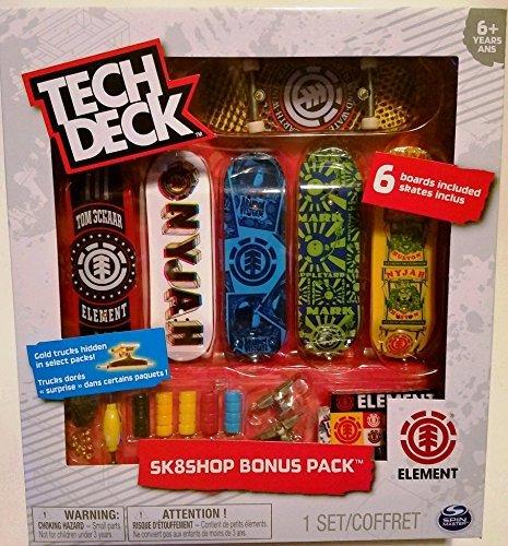Tech Deck Just Released Sk8shop Element Bonus Pack by Tech Deck (Image #1)