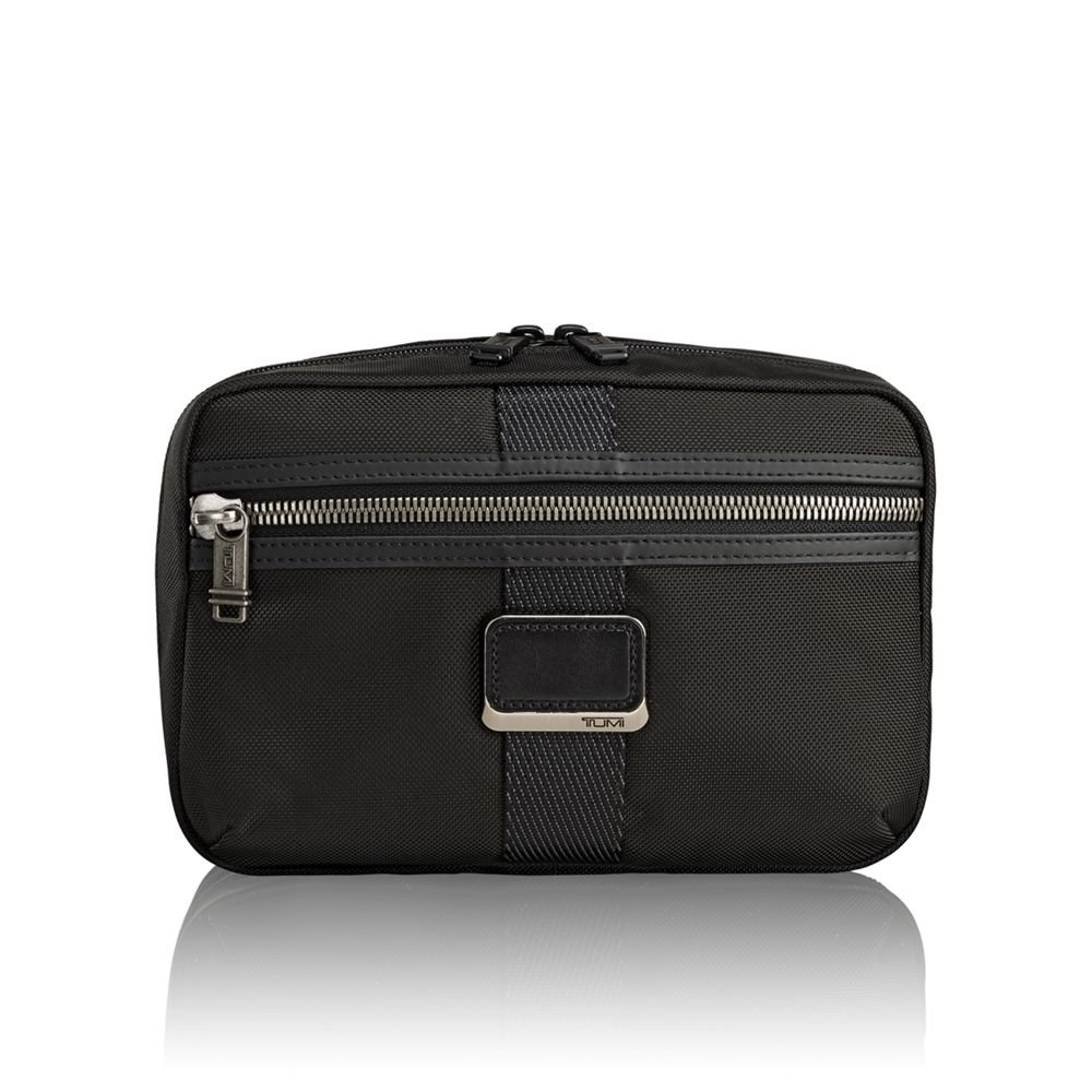 TUMI - Alpha Bravo Reno Travel Kit - Hanging Toiletry Bag for Men and Women - Black by TUMI