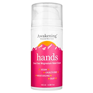 Awakening Hands - Dead Sea Magnesium Hand Cream